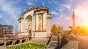 Porte de Paris in Lille France Royalty Free Stock Photos