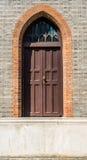 Porte de pas de géant dans la porcelaine de Changhaï d'église Photos stock