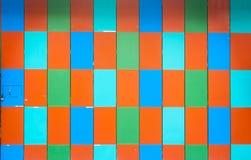 Porte de pliage avec coloré photos stock