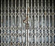 Porte de pliage en acier images stock