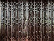 porte de pliage en métal photos libres de droits