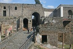 Porte de Pompeii photos stock
