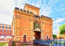 Porte de Porta Galliera de Bologna photographie stock