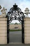 Porte de résidence de belvédère Photos libres de droits