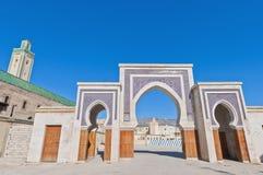 Porte de Rcif à Fez, Maroc Image stock