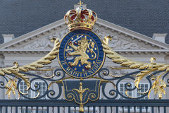 Porte de Royal Palace Noordeinde Images libres de droits