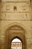 Porte de San Andres de détail, Villalpando, Zamora, image stock