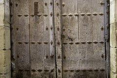 Porte de serrure âgée Images libres de droits