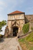 Porte de Sigismund (XV C ) du château de Bratislava, la Slovaquie Photo libre de droits
