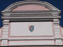 Porte de Tallinn (Pärnu, Estonie) photos libres de droits