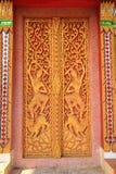 Porte de temple Photo libre de droits