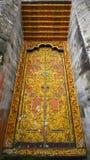 Porte de temple de Bali Photos stock