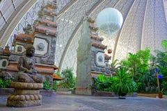 Porte de temple de Balinese Photos libres de droits