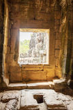 Porte de temple de Phuon de Ba, Angkor Thom, Siem Reap, Cambodge Photo libre de droits