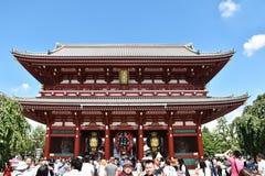 Porte de tonnerre du 5 septembre 2016 au temple d'Asakusa Senso-JI à Tokyo, Japon Photo libre de droits