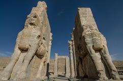 Porte de toutes les nations, Persepolis Images stock