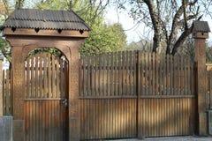 Porte de Transylvanian photo stock