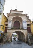 Porte de Trujillo, Caceres, Espagne Photos libres de droits