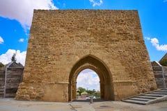 Porte de Villalpando de saint Andres à Zamora Espagne photos libres de droits