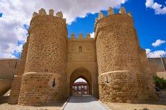 Porte de Villalpando de saint Andres à Zamora Espagne image libre de droits