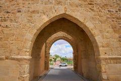 Porte de Villalpando de saint Andres à Zamora Espagne photo stock