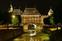 Porte de ville d'Amersfoort - Koppelpoort Photographie stock