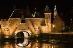 Porte de ville d'Amersfoort - Koppelpoort Photos libres de droits