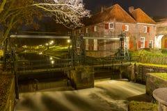 Porte de ville d'Amersfoort - Koppelpoort Photographie stock libre de droits