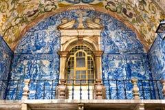 Porte de ville d'Obidos, Portugal Images libres de droits