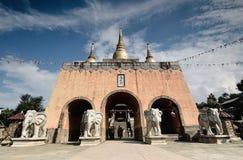 Porte de ville de Dali Yunnan-Film et de télévision Photo stock