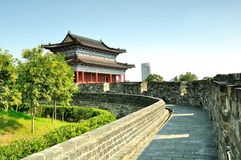 Porte de ville de Yijiang Photographie stock