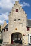 Porte de ville le Noordhavenpoort, Zierikzee Images stock