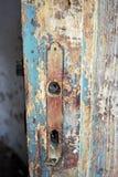 Porte de vintage de la morgue Image libre de droits