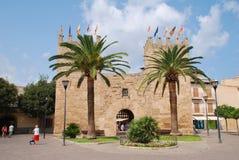 Porte de Xara, Alcudia, Majorca Photographie stock