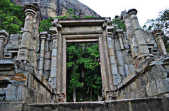 Porte de Yapahuwa Photos libres de droits