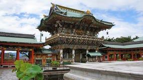 Porte de Yomeimon de Kosanji Temple au Japon images libres de droits