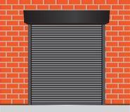 Porte del garage illustrazione di stock