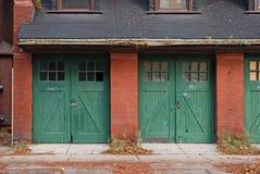 Porte del garage Immagine Stock