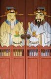 Porte del tempio, Penang, Malesia fotografie stock libere da diritti