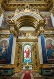 Porte dell'altare della cattedrale Russia del ` s della st Isaac Fotografia Stock Libera da Diritti