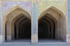 Porte dell'arco con il mosaico Fotografia Stock