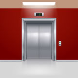 Porte dell'elevatore Fotografie Stock