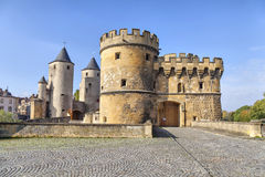 Porte des Allemands (German's Gate) in Metz Royalty Free Stock Photo