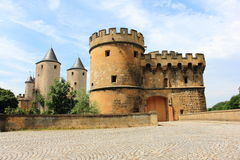 Porte des allemans in metz Royalty Free Stock Photography