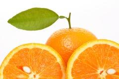 porte des fruits l'orange Images libres de droits