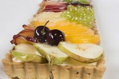 Porte des fruits la tarte Image libre de droits