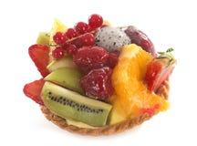 Porte des fruits la tartelette Image stock