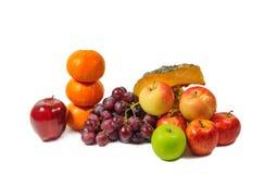 Porte des fruits le fond blanc Photo libre de droits