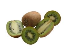 porte des fruits le kiwi Photo stock