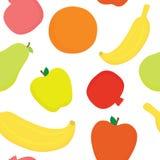 Porte des fruits le modèle sans couture de vecteur Images libres de droits